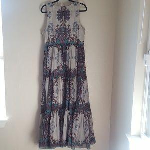 5ee904c1266d1 Anthropologie Dresses - Anthropologie Bhanuni Madera Maxi Dress Size 16